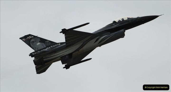 2019-07-13 Yeovilton Air Day. (508) F-16 Fighting Falcon.