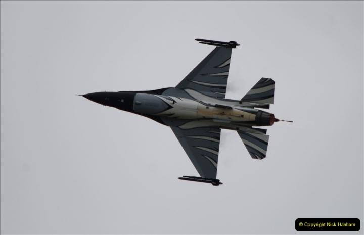 2019-07-13 Yeovilton Air Day. (509) F-16 Fighting Falcon.