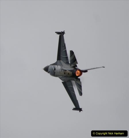 2019-07-13 Yeovilton Air Day. (510) F-16 Fighting Falcon.