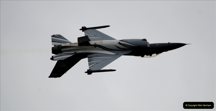 2019-07-13 Yeovilton Air Day. (515) F-16 Fighting Falcon.