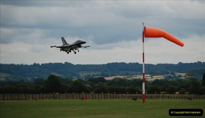 2019-07-13 Yeovilton Air Day. (520) F-16 Fighting Falcon.