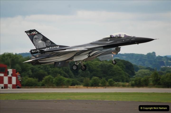 2019-07-13 Yeovilton Air Day. (522) F-16 Fighting Falcon.