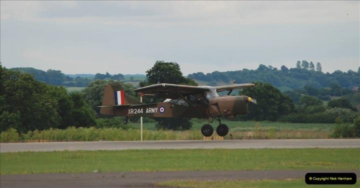 2019-07-13 Yeovilton Air Day. (541) Auster AOP.