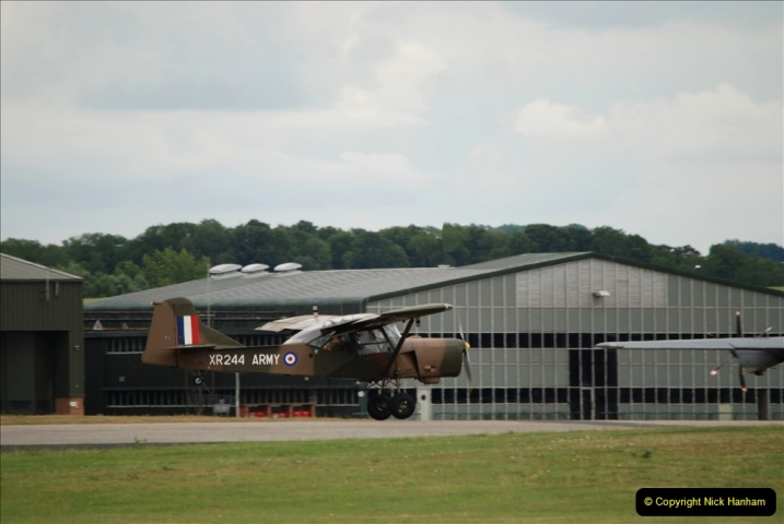 2019-07-13 Yeovilton Air Day. (543) Auster AOP.
