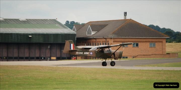 2019-07-13 Yeovilton Air Day. (544) Auster AOP.
