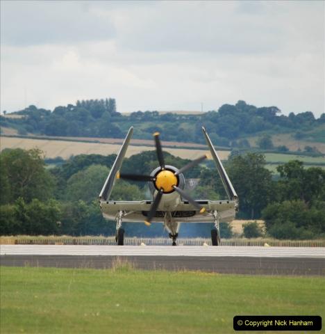 2019-07-13 Yeovilton Air Day. (575) Hawker Sea Fury T.20.