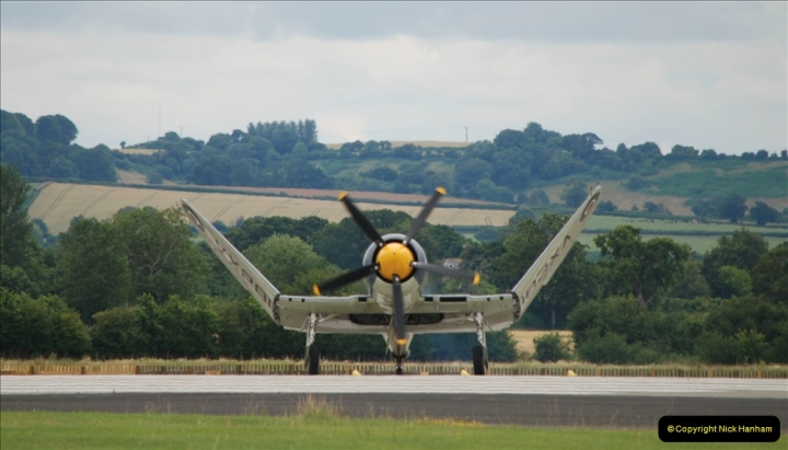 2019-07-13 Yeovilton Air Day. (576) Hawker Sea Fury T.20.