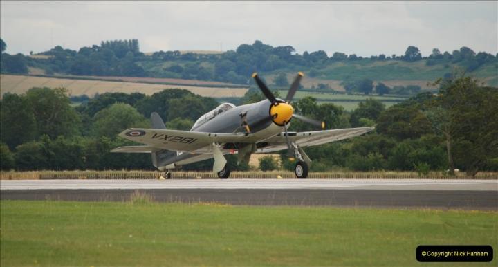 2019-07-13 Yeovilton Air Day. (578) Hawker Sea Fury T.20.