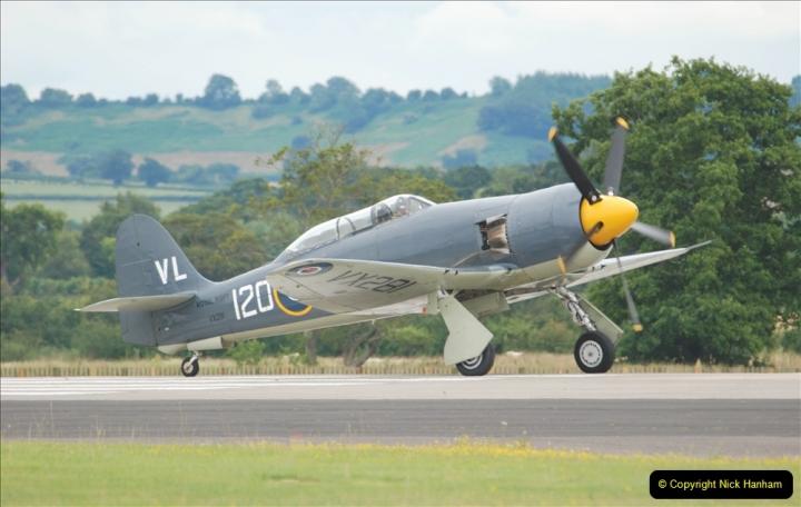 2019-07-13 Yeovilton Air Day. (582) Hawker Sea Fury T.20.