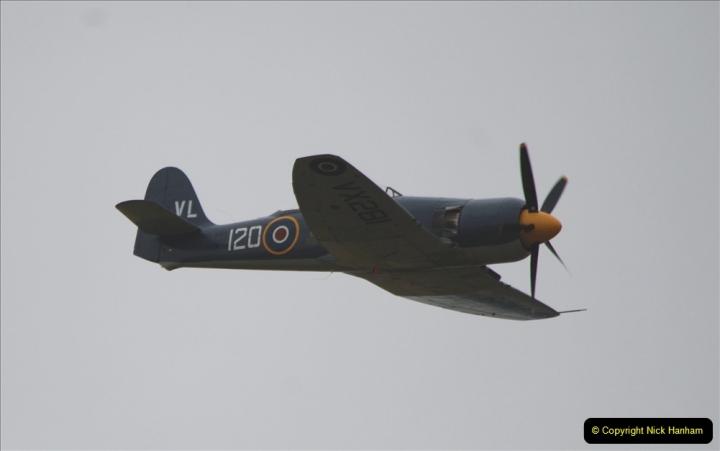 2019-07-13 Yeovilton Air Day. (585) Hawker Sea Fury T.20.