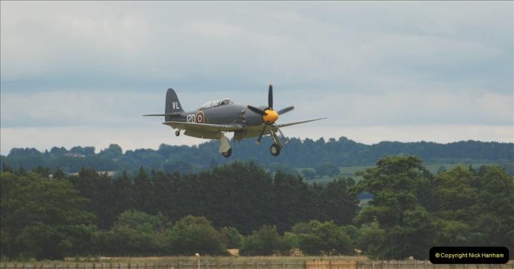 2019-07-13 Yeovilton Air Day. (587) Hawker Sea Fury T.20.