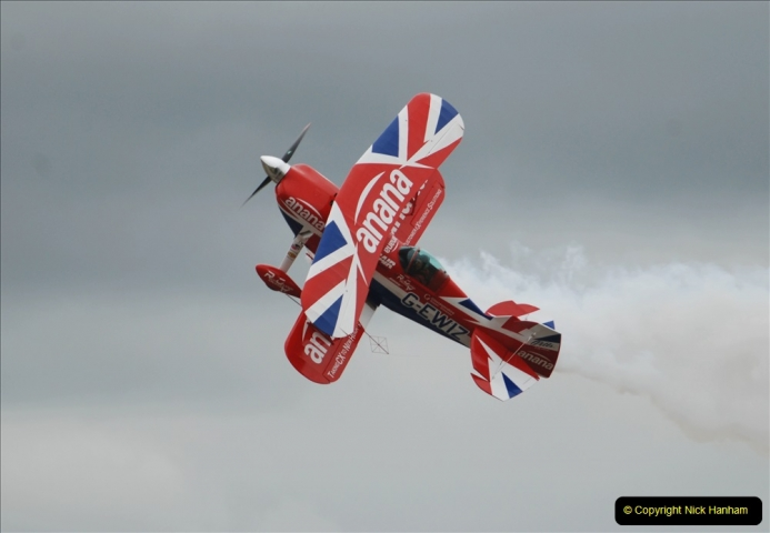 2019-07-13 Yeovilton Air Day. (594) Pitts S-2 Special.