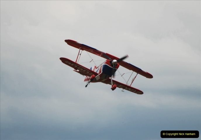 2019-07-13 Yeovilton Air Day. (601) Pitts S-2 Special.