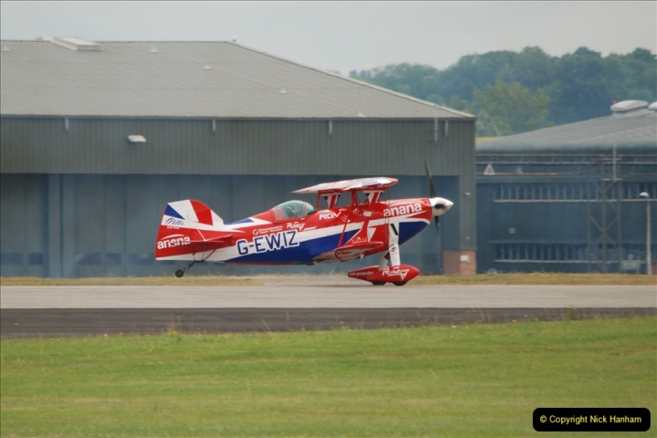 2019-07-13 Yeovilton Air Day. (603) Pitts S-2 Special.