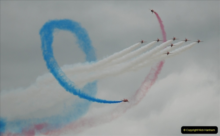 2019-07-13 Yeovilton Air Day. (661) Red Arrows.