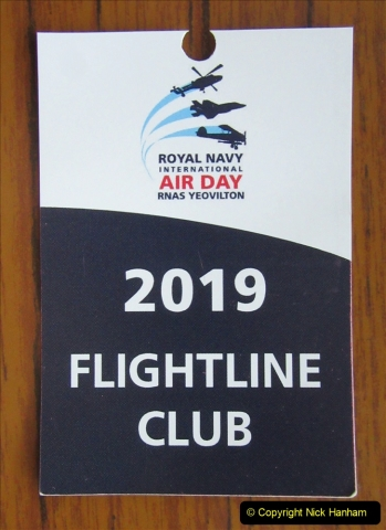 2019-07-13 Yeovilton Air Day. (7) Your Host treated himself to the top enclosure.
