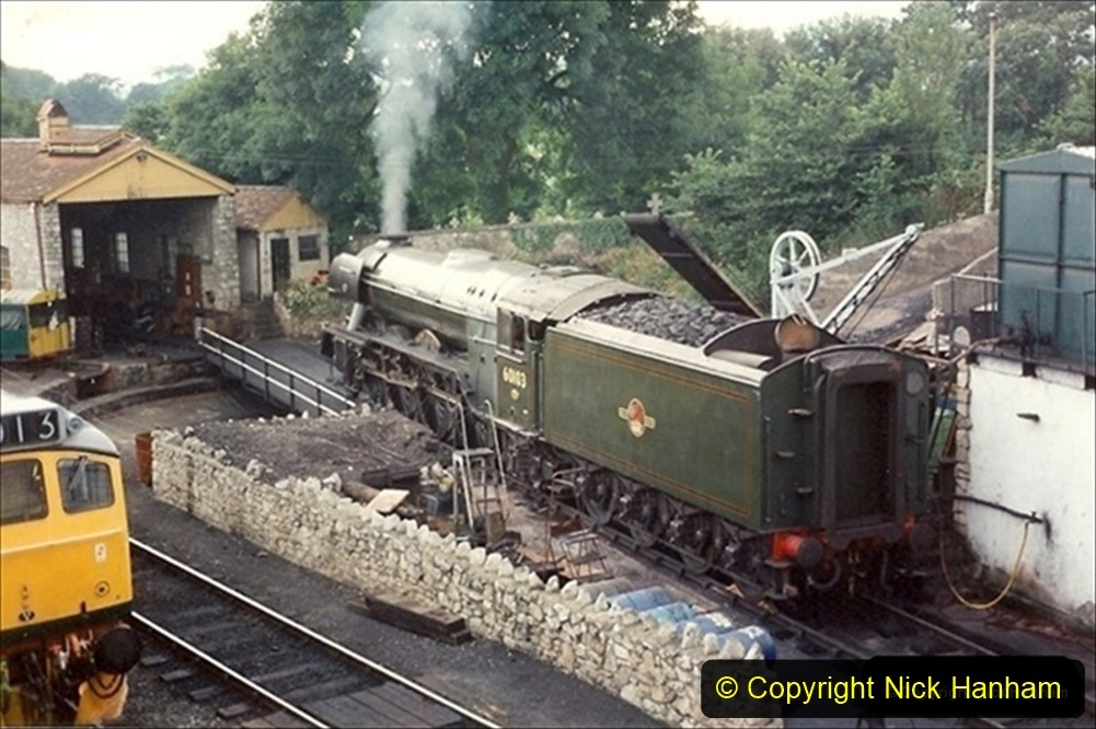 Your Host and Flying Scotsman 1994 and 2019