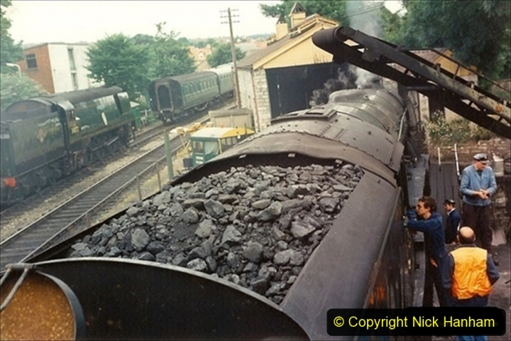1994-07-16 Flying Scotsman comes to Swanage. (8) 008