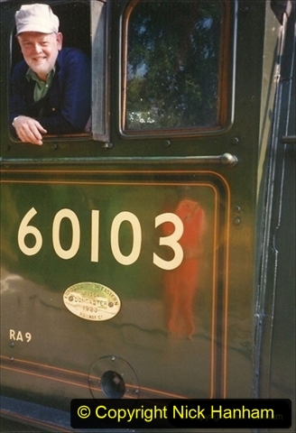 1994-07-18 to 22 Your Host spends a week driving Flying Scotsman.  (13) Your Host. 033