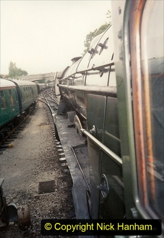 1994-07-18 to 22 Your Host spends a week driving Flying Scotsman.  (17) 037