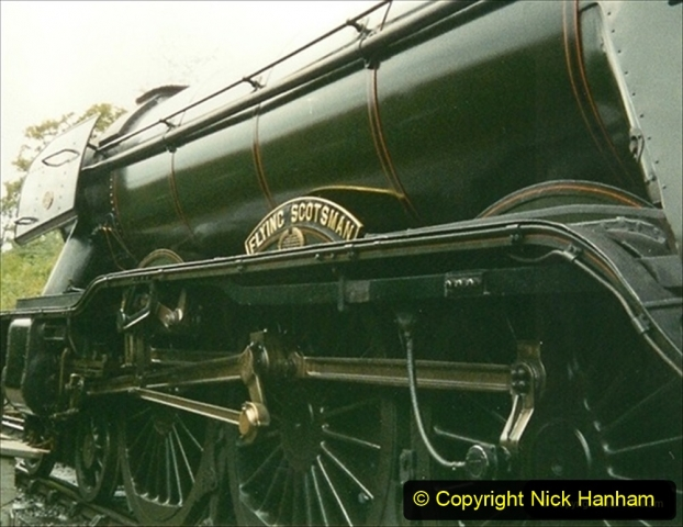 1994-08-08 Your Host driving 60103 Flying Scotsman (2) 039