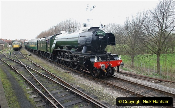2019-03-18 to 23 Flying Scotsman returns to the SR. (1) Your Host remembering 1994. 041