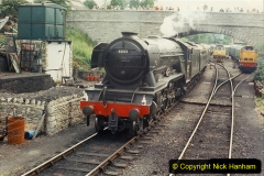 1994-07-16 Flying Scotsman comes to Swanage. (12) 012