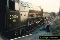 1994-07-16 Flying Scotsman comes to Swanage. (15) 015