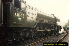 1994-07-18 to 22 Your Host spends a week driving Flying Scotsman.  (12) 032
