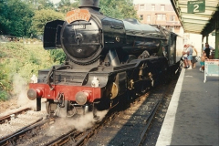 1994-07-18 to 22 Your Host spends a week driving Flying Scotsman.  (6) 026