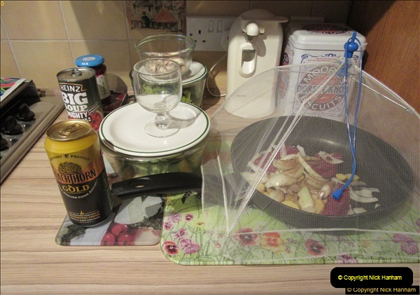 2017-02-17 Making a casserole and ice cream by your Host.  (76)074