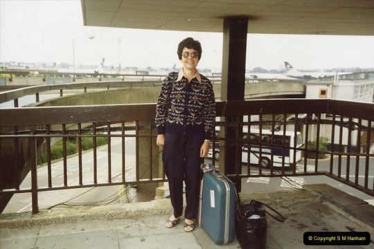 Your Host's Wife visits Bremen, Germany 1989
