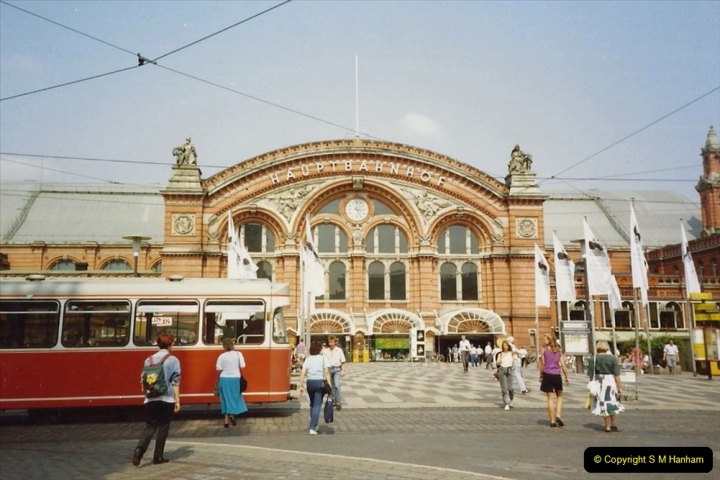 1989 June. Your Host's Wife visits Bremen, Germany. (2)
