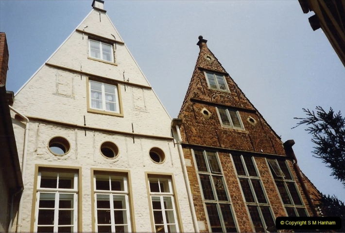 1989 June. Your Host's Wife visits Bremen, Germany. (20)