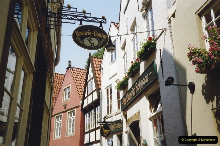 1989 June. Your Host's Wife visits Bremen, Germany. (22)