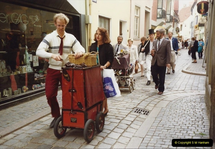 1989 June. Your Host's Wife visits Bremen, Germany. (24)