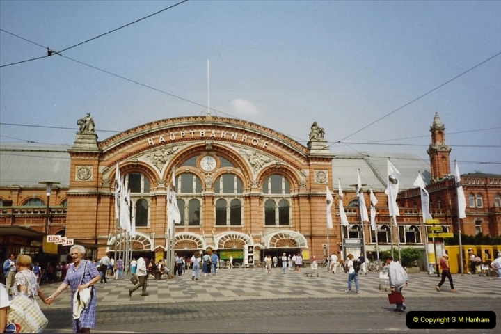 1989 June. Your Host's Wife visits Bremen, Germany. (3)
