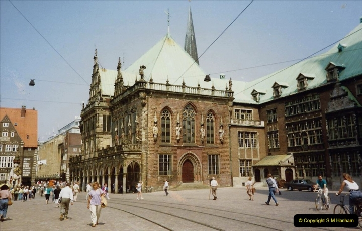 1989 June. Your Host's Wife visits Bremen, Germany. (5)
