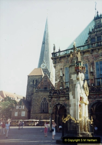 1989 June. Your Host's Wife visits Bremen, Germany. (7)