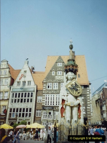 1989 June. Your Host's Wife visits Bremen, Germany. (8)