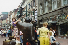 1989 June. Your Host's Wife visits Bremen, Germany. (14)