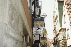 1989 June. Your Host's Wife visits Bremen, Germany. (16)