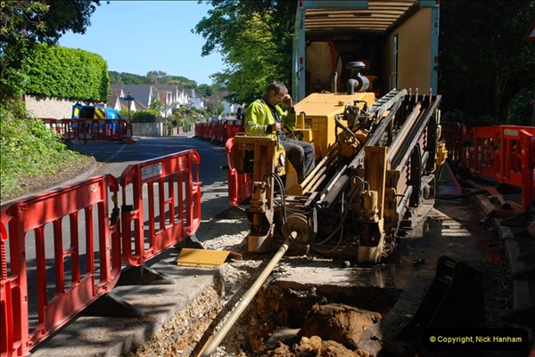 2012-06-18 Water Main cut by Gas people.  (27)27