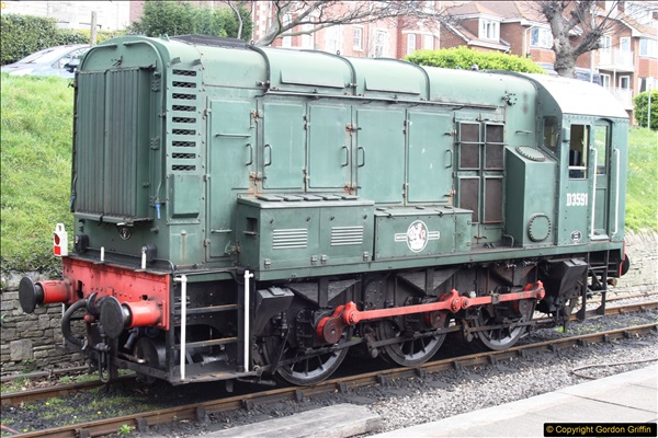 2017-03-31 to 04-02 Strictly Bulleid at the Swanage Railway.  (5)37