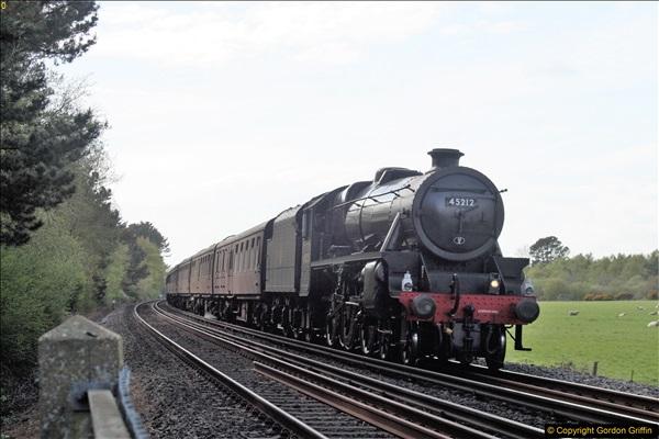 2018 Dorset rail events Main Line & Swanage.  (2)72