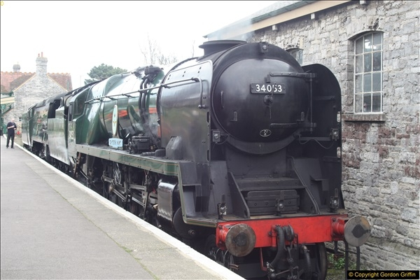 2017-03-31 to 04-02 Strictly Bulleid at the Swanage Railway.  (3)35