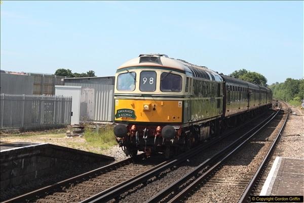 2017-06-13 First SR train into Wareham.  (1)42