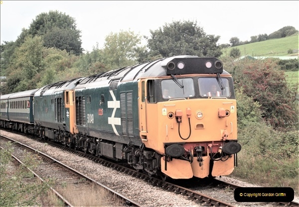 2018-09-07 Pathfinder Rail Tour to Weymouth. 50 049 and 50 007. (1)69