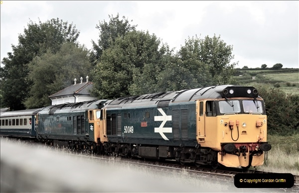 2018-09-07 Pathfinder Rail Tour to Weymouth. 50 049 and 50 007. (2)70