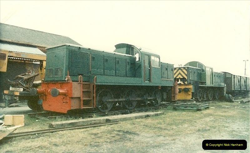 1988-04-20 The Gloucestershire & Warwickshire, Railway @ Toddington (2)002